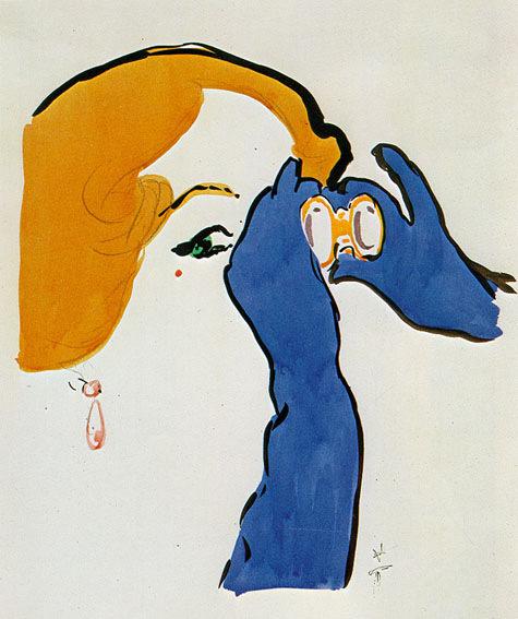 Рене ГРЮО, великий иллюстратор